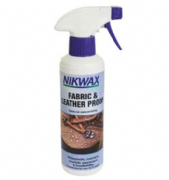 Nikwax fabric and leather proof spray 300ml